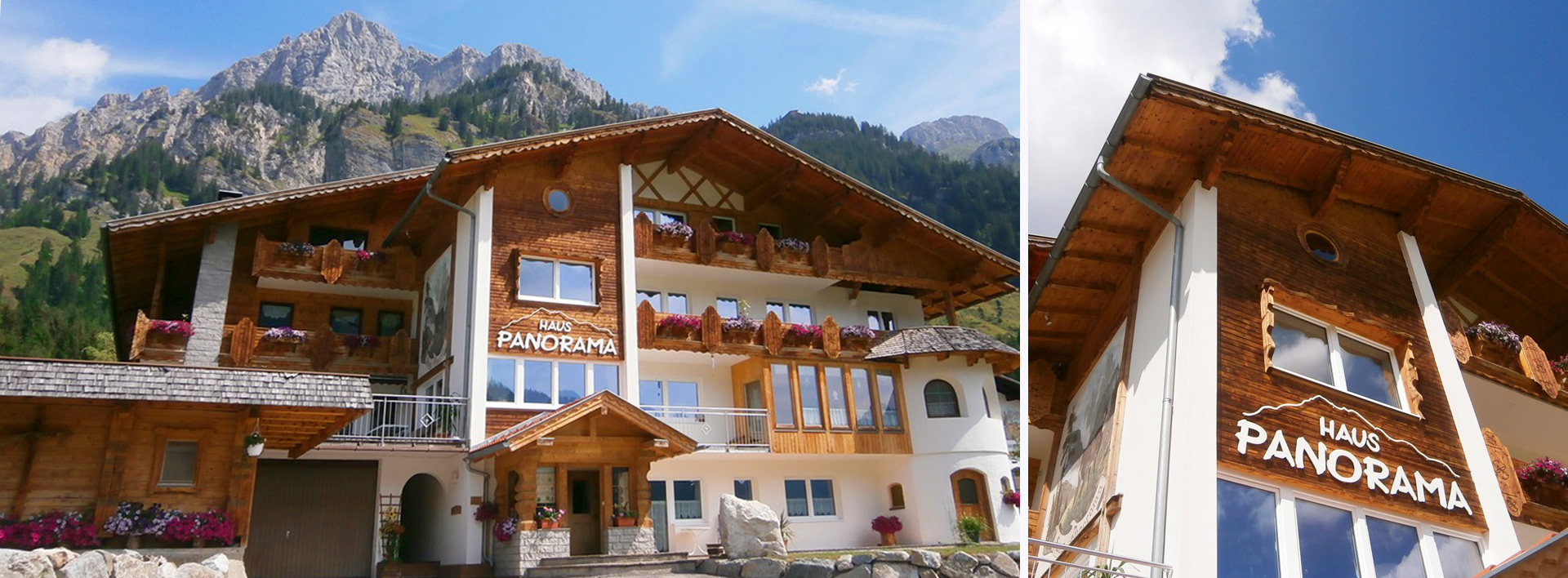 Pension Haus Panorama in Nesselwängle Tannheimer Tal